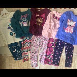 Bundle of 5 Gymboree outfits (size 2t)